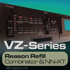 CASIO VZ1 VZ10 REASON REFILL 215 NNXT & COMB 2320 SAMPLES 24bit MAC PC DOWNLOAD
