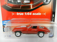 2017 AUTO WORLD 1:64 Deluxe 1A = RED 1967 Corvette 427 *NIP*