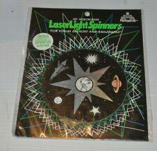 LaserLight Spinners Fantasma 3D Hologram TOY 1990 Laser Light