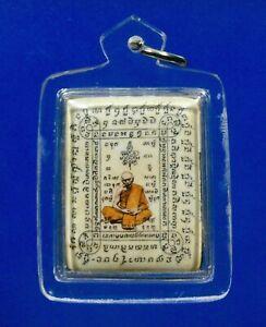 Thai Amulet Powerful Magic old Phra LP TIM THAI BUDDHA AMULET Thai Amulet