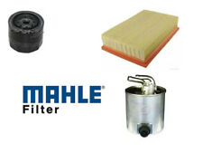 FITS NISSAN NAVARA D40 2.5 DCI SERVICE KIT OIL AIR FUEL FILTERS MAHLE OE