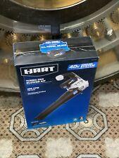 Hart 40v Brushless Turbo Fan Blower Kit 550 Cfm W-Batt & Charger Hlbl031Vnm