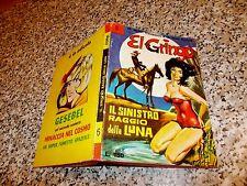 EL GRINGO N.6 CORNO 1966 ORIGINALE OTTIMO TIPO NERI DIABOLIK SATANIK KRIMINAL