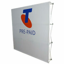 3m x 3m Fabric Pop Up Banner/Exhibition Displays/Tradeshow Wall/Expo Backdrop