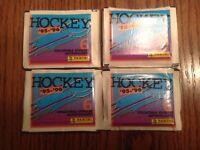 (25) 1995-96 Panini Hockey Sticker Packs