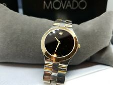 Movado Men's Watch Stainless Water Resistant 8070308. Swiss. WORKING EUC