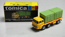 VINTAGE TOMICA 90 FUSO CONTAINER TRANSPORTER TRUCK MADE IN JAPAN RARE