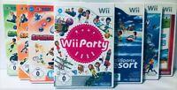 Wii Sports / Party / Resort /Fit Plus / Island Spiele *BLITZVERSAND + AUSWAHL*