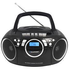 Boombox CD Player Blaupunkt Mp3 USB Cassette Radio Portable
