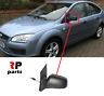 FOR FORD FOCUS 2004 - 2008 NEW WING MIRROR MANUAL BLACK LEFT N/S LHD