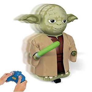 STAR WARS RADIO CONTROL INFLATABLE YODA WITH SOUNDS 68CM BRAND NEW REMOTE
