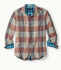NWT Mens Tommy Bahama Parana Plaid shirt size XL