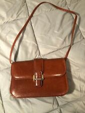 Jay Herbert Brown Brown Leather Bag