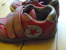 Bisgaard Sneaker Halbschuh Stern Leder/Textil Gr. 28 Rot Stern