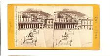 Stereoview Vues d'Italie – Naples