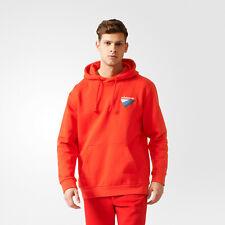 Adidas Hombre Rojo Anichkov Sudadera con Capucha L