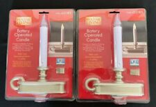 2 - Holiday Living Battery Operated LED Candles #22185