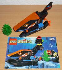 Lego System 6135 Unterwasserfahrzeug v. 1996 + OBA