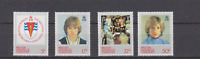 BRITISH ANTARCTIC TERRITORY 1983 DIANA BIRTHDAY COMPLETE SET MINT NEVER HINGED