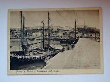 ORTONA A MARE panorama porto veliero barca vela Chieti vecchia cartolina 481