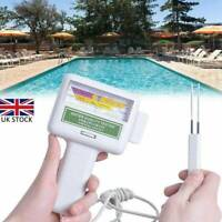 Water Quality PH/CL2 Chlorine Tester Level Meters For Swimming Pool Spa Hot Tubs