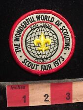 Vtg 1973 San Diego Scout Fair Wonderful World Of Scouting Boy Scouts Patch 77V7