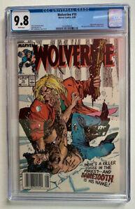 Wolverine #10 CGC 9.8 UPC Newsstand Chris Claremont Bill Sienkiewicz Perfect SS
