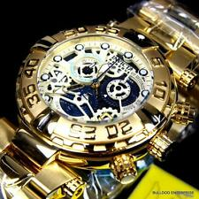 Invicta Reserve Subaqua Noma I 1 Swiss Made Gold Plated Skeletonized Watch New