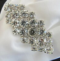 Large Diamante Bling Stock Pin - Dressage Show Tie