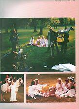 ABBA 'album photoshoot' magazine PHOTO/Poster/clipping 11x8 inches