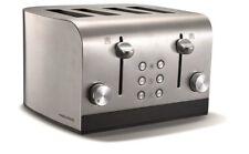 Morphy Richards Equip 4 Scheiben Toaster, 4 Schlitz Toaster 241001 Edelstahl Neu