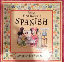 Disneys First Words in Spanish: A Pull-The-Tab Wo