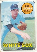 1969 Topps #548 Bob Locker Chicago White Sox Baseball Card  VG-EX