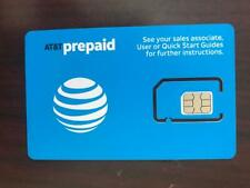 Lot Of 1000 Brand New Prepaid At&T / Att 4G Lte Triple Sim Card 3 In 1 in bulk