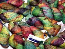 Lanas multicolores madeja de lana
