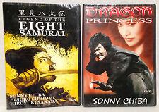 Legend of the Eight Samurai + Dragon Princess (2 DVD Lot) REGION 0, BRAND NEW!