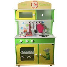 Cucina per Bambini Gioco in Legno Giocattolo