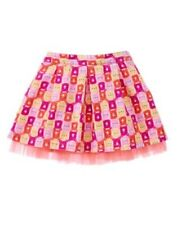 GYMBOREE WOODLAND WONDER MULTI COLOR BEAR STRIPED SKIRT 12 18 24 3T 4T 5T NWT