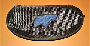 Maui Jim Sunglasses Case w/ Clip - Brown & Blue Color - Ships Quick