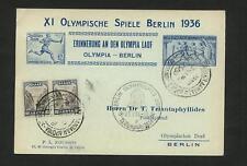 Olympia 1936: Berlin: Erinnerung an Olympia Lauf  #m704