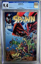 New listing Spawn #11 Image 1993 Todd McFarlane Frank Miller Cgc 9.4 Nm Wp Comic W0028