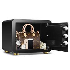 Mini Fingerprint Gun Jewelry Safe Box Electronic Keypad Lock Home Security Box