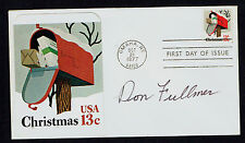 Don Fullmer (d. 2012) signed autograph First Day Cover FDC Boxer Record 54-20-5
