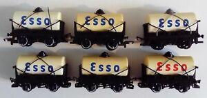 Hornby R096 Esso Tank Wagons rake of 6