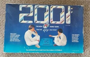2001 Magnetic Strategy Board Game. Used