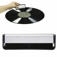 Durable Carbon Fiber Vinyl Record Cleaning Cleaner Anti Static Brush Bristle