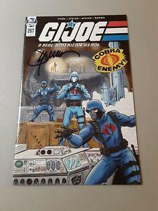 G.I.Joe 267 Comic Signed Jay Sullivan Cobra CommandBase Exclusive, Bx7