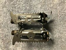 ANTIQUE BSA 9 / 16 ORIGINAL BICYCLE RAT TRAP PEDALS, MADE IN ENGLAND