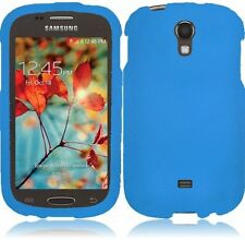 Hard Rubberized Case for Samsung Galaxy Light T399 - Cool Blue