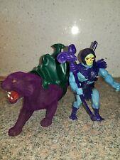Skeletor Con Panthor masters del universo. Vintage He-man Amos del universo Completo BFC2